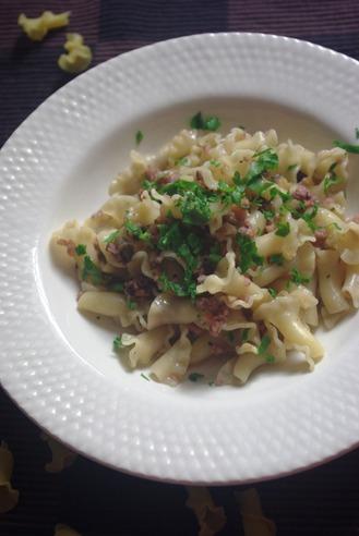 2016.11.21 octopus & aubergine ragu pasta