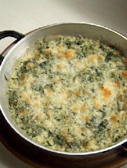spinach saganaki