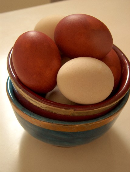 hamine eggs