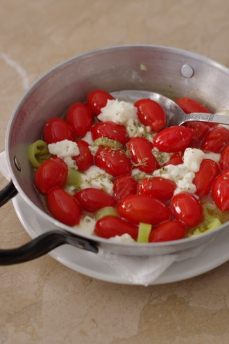 2021.07.26 cherry tomato saganaki