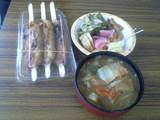 お昼ごはん☆ 从リ ゚д゚ノリ ウマー