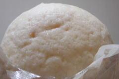 白いミルクメロンパンを開けてみた