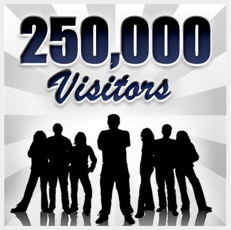 250000visitors