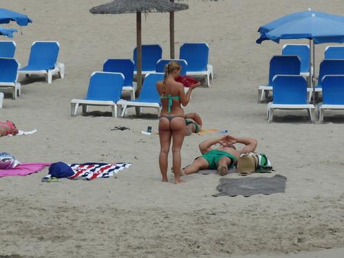 Ibiza Candid Voyeur Girl 1 - P1080238