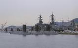 アレイからすこじま-潜水艦と護衛艦