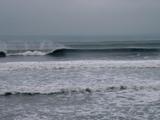 七里ヶ浜の波