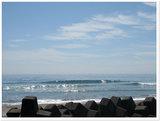 志田下の波