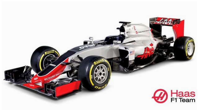 F1 tec : ハースF1が2016年新マ...