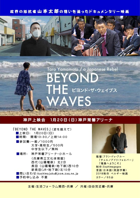 beyond  the  waves チラシ
