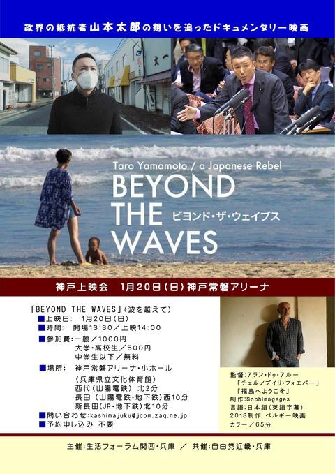 beyond  the  waves チラシ