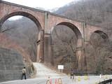 碓氷峠の鉄橋