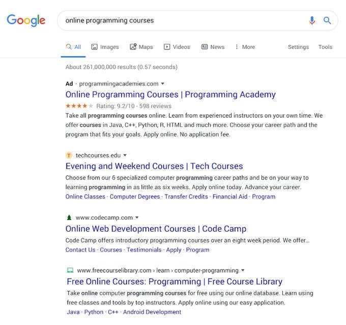 【悲報】Google「新しい検索結果にしたら批判が多いのですが・・・」 どうやら今後もテストを続ける模様