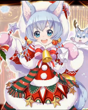 コヨミ_白猫_クリスマス