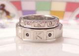 結婚指輪 雪