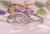 シンプル結婚指輪