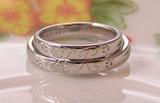犬の足跡 結婚指輪