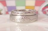 結婚指輪 山