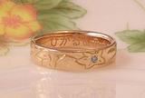 婚約指輪を手作り