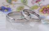 りんごの結婚指輪