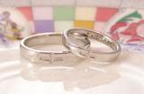 クロスの結婚指輪