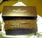ブランデイケーキ