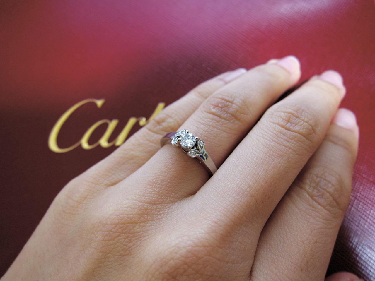 size 40 6789b 21cd6 ③婚約指輪にカルティエバレリーナを頂いた話。 : いつか街で ...
