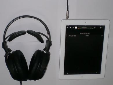 iPad3_ヘッドフォン