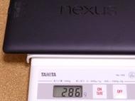 Nexus 7 (2013) 重さ