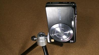 デジタルカメラ用三脚_100円均一_横回転