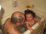 たけじいとお風呂