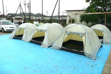 避難テント