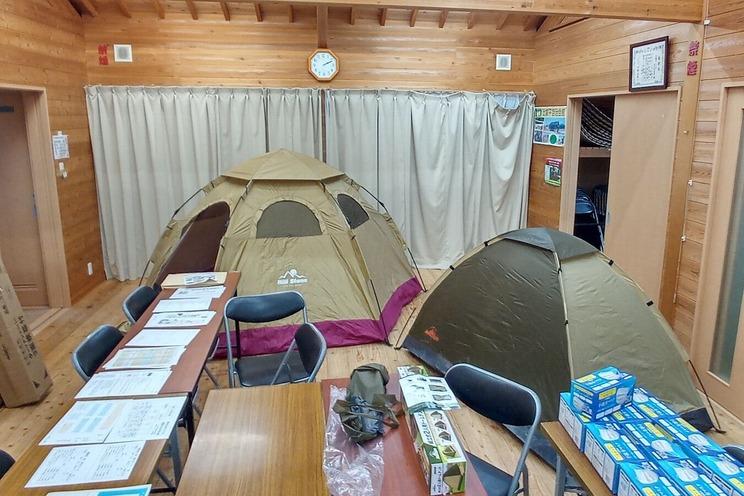 ドームテント 2種