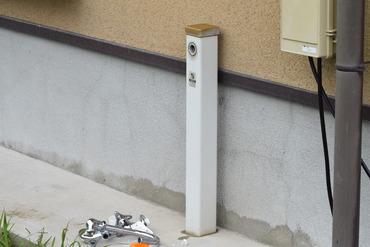 屋外水栓盗難