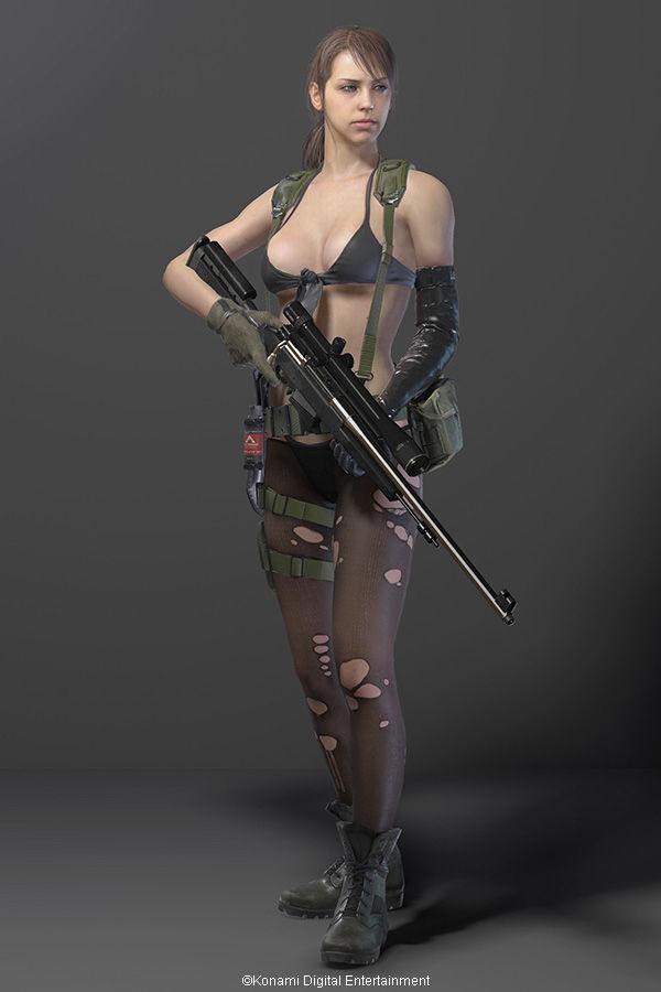 メタル ギア ソリッド 5 女性 兵士