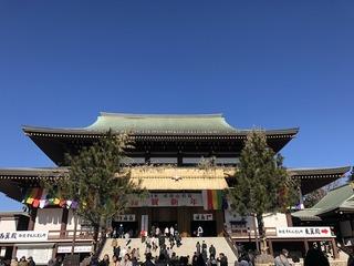 20190119成田山新勝寺本堂