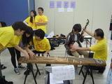 日本語学校語学留学生の祭典和楽器ブース4