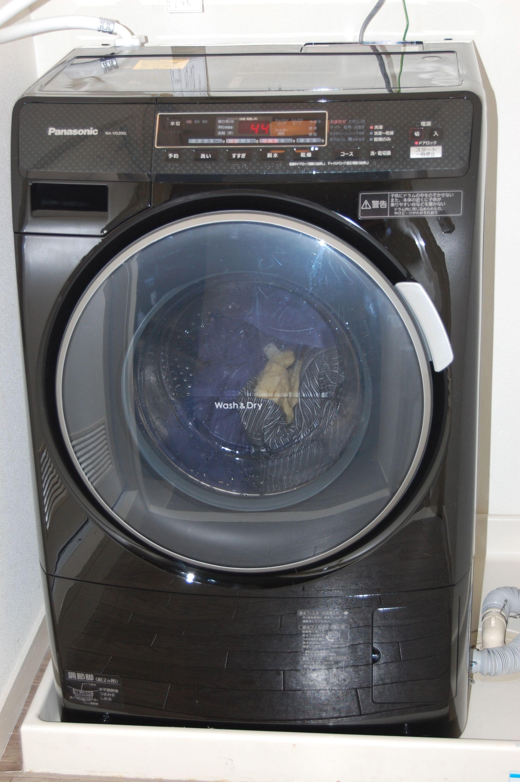 ムジの洗濯機は最初のマンションがベランダに洗濯機を置くタイプで、外側が汚れていて、なんとなくもう洗ってもきれいになっていない気さえしていました(そんなことは  ...