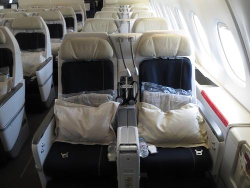 エアフラ A380 プレミアムエコノミー : 会社員の海外1人旅