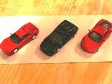 新旧フェラーリ、3台集合