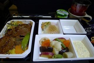 上海グルメ-羽田発上海行きNH1259便