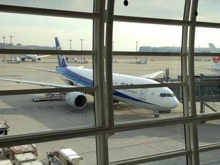 羽田発上海・虹橋空港行きの全日空NH1259便