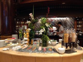 セントレジス上海(上海紅塔豪華精選酒店)元上海瑞吉紅塔大酒店のSPGプラチナメンバーの朝食