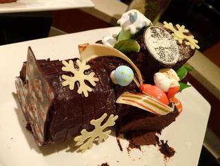 上海虹橋シェラトンホテルのクリスマスケーキ