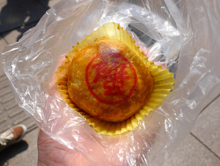 泰康食品の蘇州風月餅 @南京路