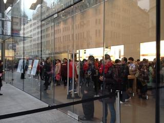 上海のアップルストアとiPhone5の価格
