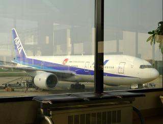 上海虹橋発羽田行きのNH1260便