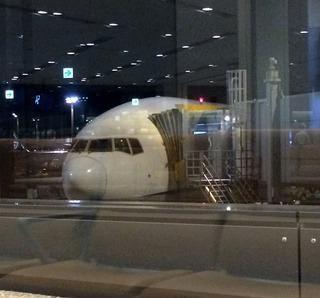 85回目の上海--全日空「NH921」便