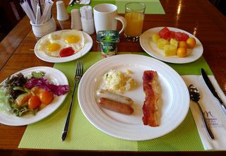 中国・上海 虹橋地区のホテル グランドメルキュール虹橋上海(上海虹橋美爵酒店)GRAND MERCURE HONGQIAO SHANGHAIの朝食