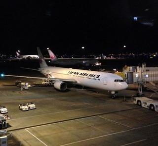 84回目の上海--日本航空「JL879」便