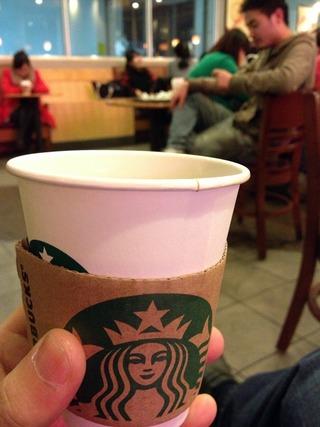 上海のスターバックスコーヒー